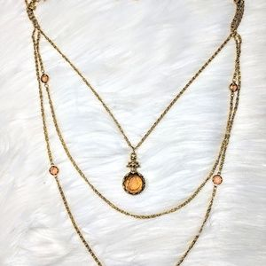 goldette Jewelry - Goldette NY Cameo Necklacw